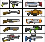 Teeworlds Guns