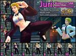 Juri -- King (KOF) costume reupload