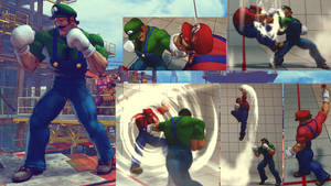 Dudley -- Mario Bros. costume reupload