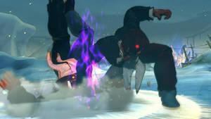 Evil Ryu -- Orochi Iori reupload
