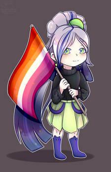 pride chibi Agatha