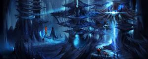 IceCave UFO by ARTCADEV