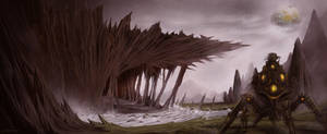 Lost Planet - Sci-Fi Landscape by ARTCADEV