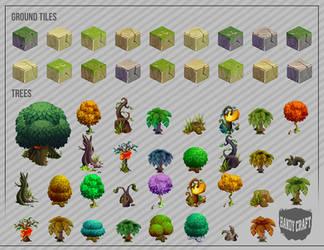 HandyCraft - Forest Pack v.01 by ARTCADEV
