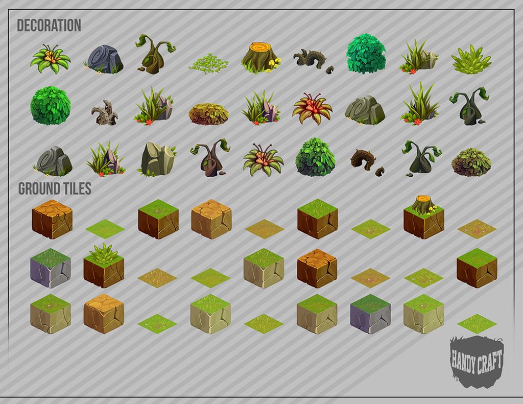 HandyCraft - Forest Pack v.01 by AMD-Design
