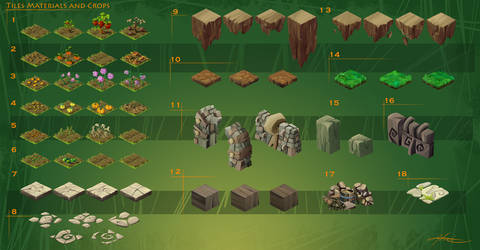 HandyCraft - Forest Pack v.01