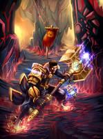 Jayce The Defender of Tomorrrow by ARTCADEV