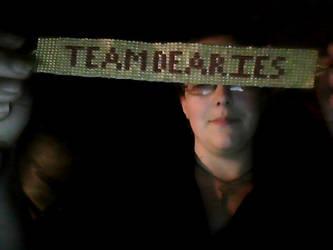 Team Dearies beaded bracelet by lorrelove