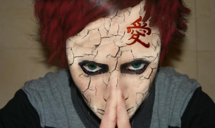 gaaras cracked face by uchihacarol on deviantart