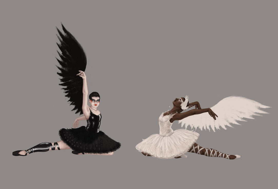 Swan Lake by spinat