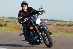 On my Motorcycle by cutterp