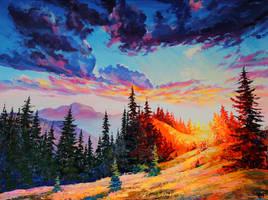 Sunset by Gudzart
