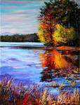 Autumn over the river