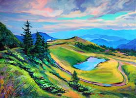 Carpathians by Gudzart