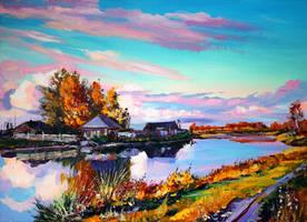 Near the pond by Gudzart
