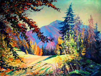 Mount Magura by Gudzart