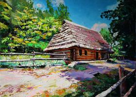 Skansen. Summer by Gudzart