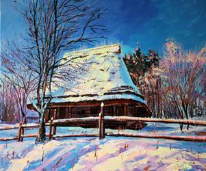 Winter morning by Gudzart