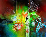 Flowers-Butterflies by Gudzart