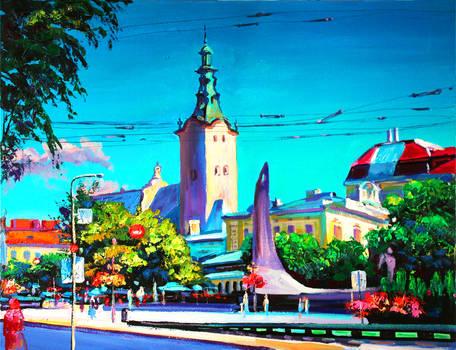 Lviv. Summer