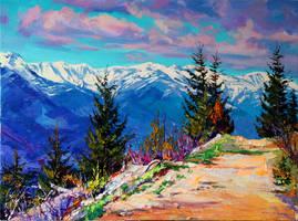 Winter / Spring by Gudzart