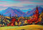 Autumn in the Carpathians by Gudzart