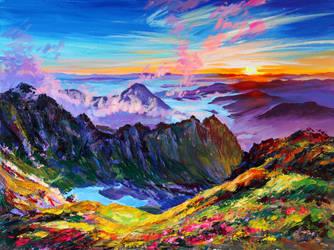 The sun rises by Gudzart