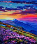 Evening Montenegro by Gudzart