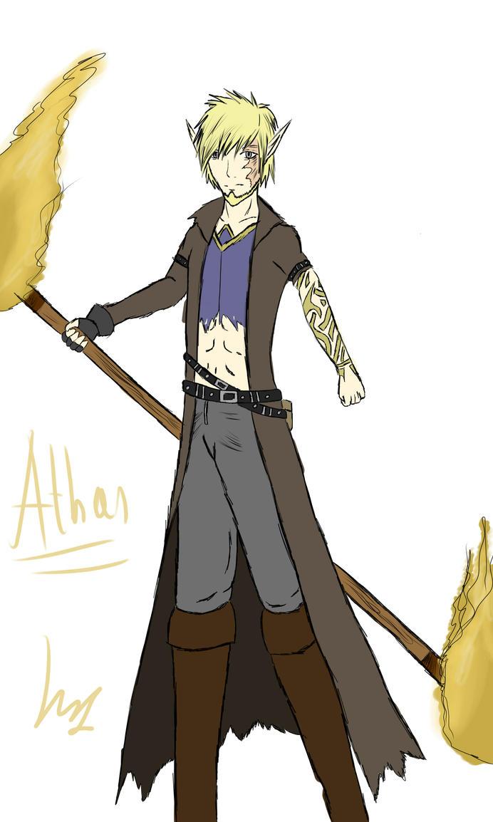 Athanas - Genderbended version by ElviraNaromis