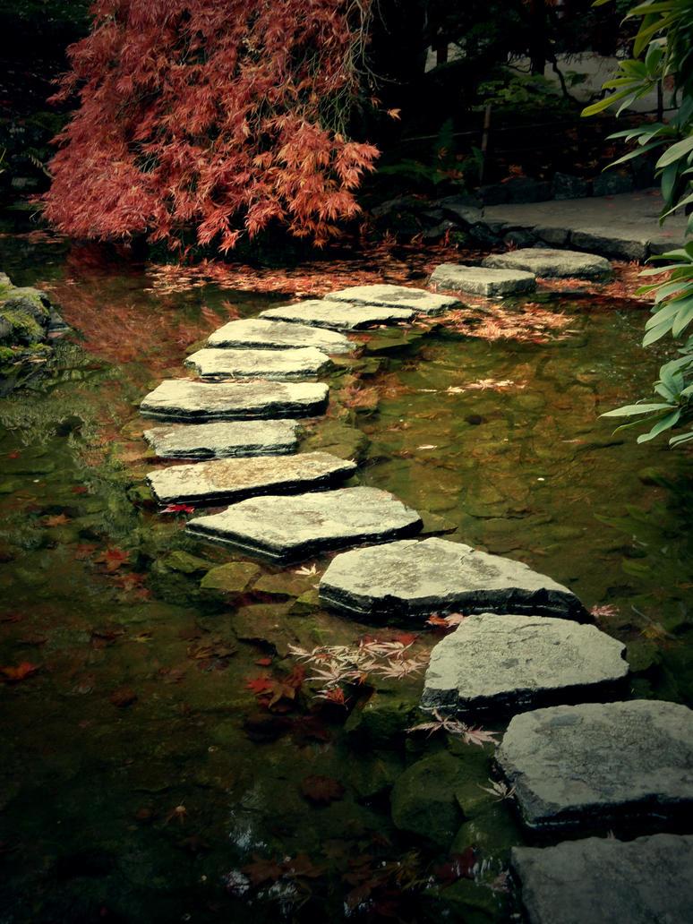 Garden Stepping Stones by Fang-Jie on DeviantArt
