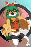 Decidueye :: Transformation :: Commission
