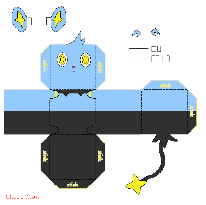 Paper Craft New 503 Pokemon Papercraft Templates Easy