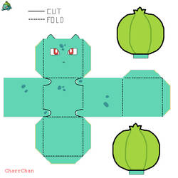 Bulbasaur Paper Craft