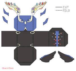 Xerneas - Pokemon Papercraft