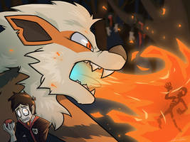 Yharim and Arcanine Commission