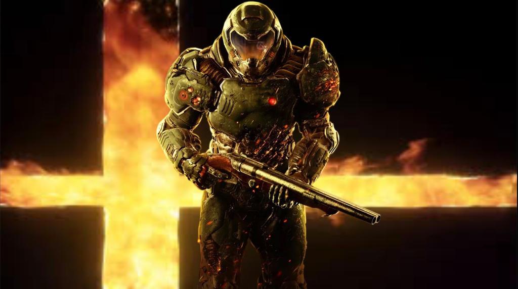 Super Smash Bros Ultimate The Doom Slayer By Service Smile On