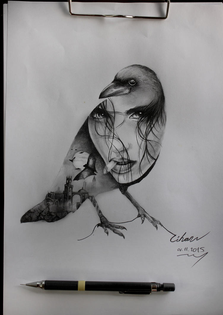 Charcoal on paper by FEIGUR