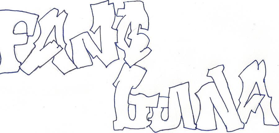 fang luna graffiti not modify by YunaFang on DeviantArt