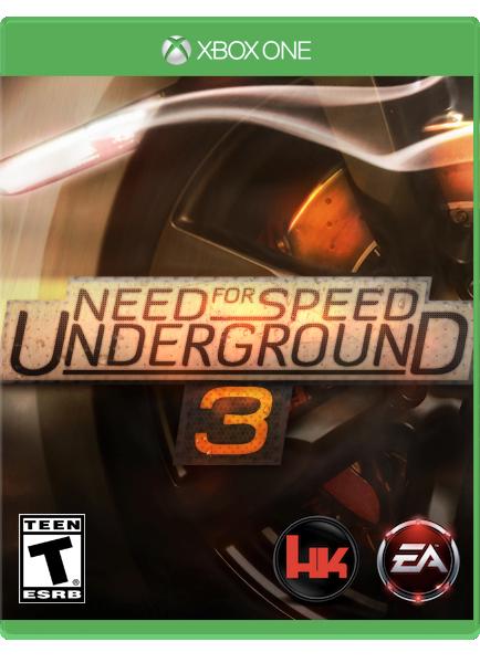 Need For Speed Underground 3 Xboxone By Sheicarson On Deviantart
