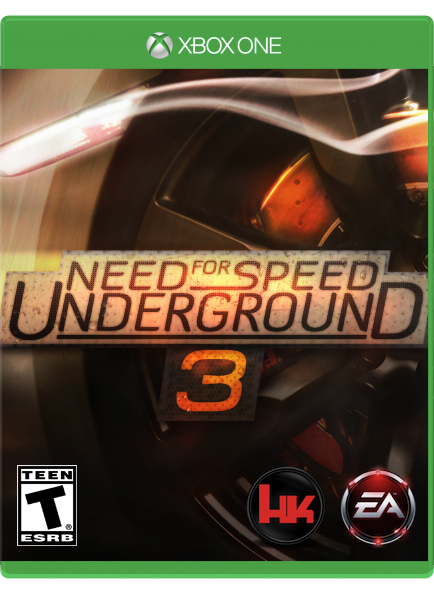 need for speed underground 3 xboxone by sheicarson on deviantart. Black Bedroom Furniture Sets. Home Design Ideas