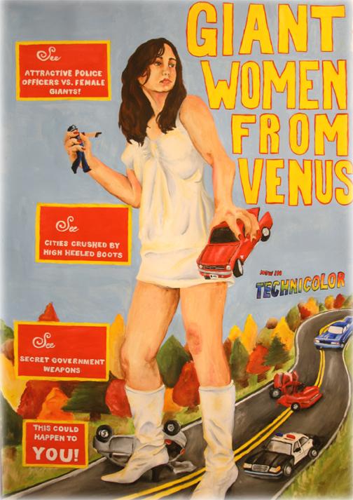 Giant Woman From Venus by Izzerbella on DeviantArt