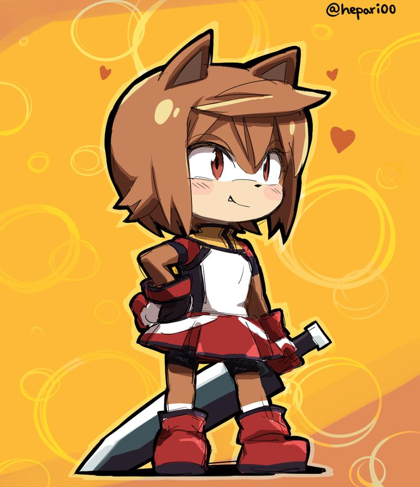 Sonic-style  Kuruna by hepary