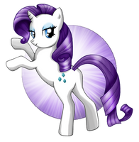 My little Pony Rarity by KawaiiKammi