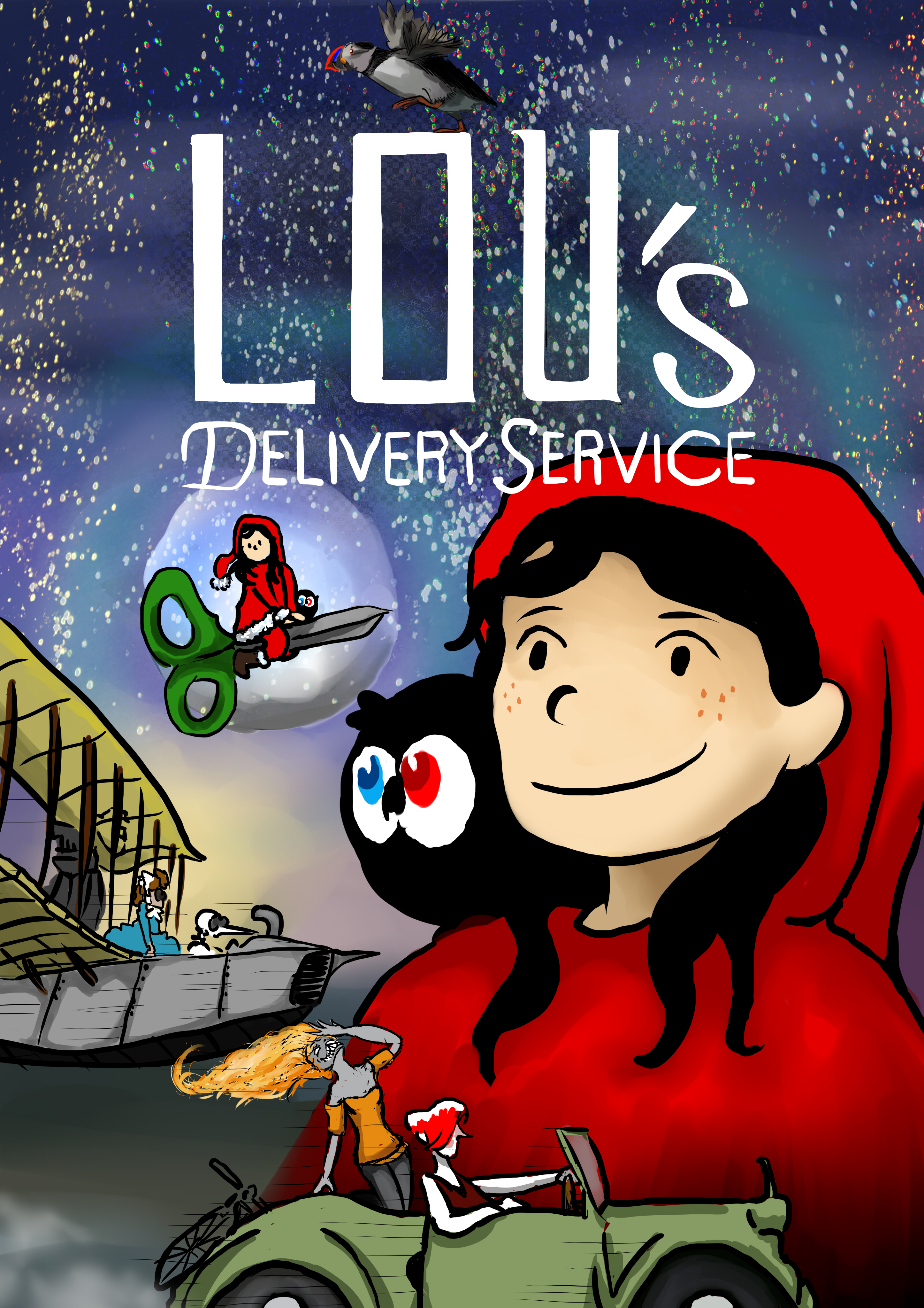 Lou's delivery service by Athaziwald