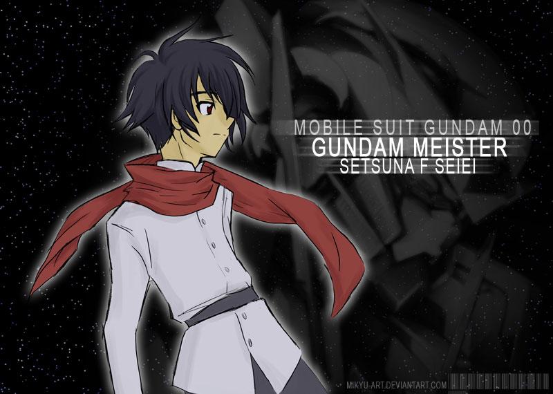 Gundam 00 Setsuna F Seiei By Mikyu Art On Deviantart