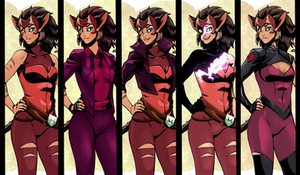 Catra outfits
