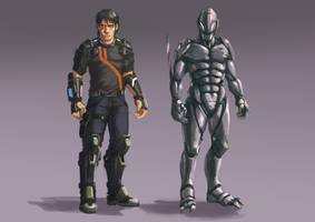 Its not the Guyver... honest by Tysho