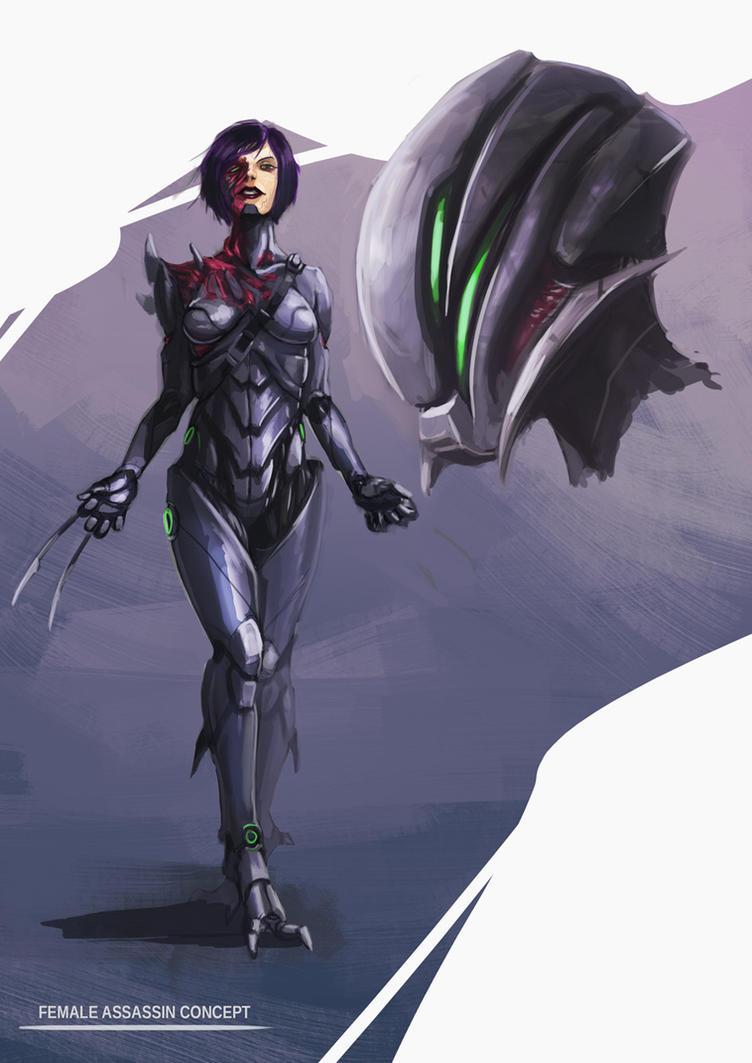 Female Assassin by Tysho