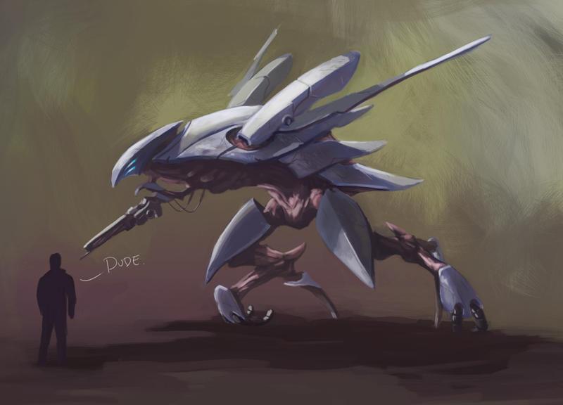 Seraphim Drone by Tysho