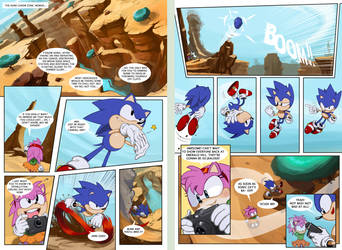 Sonic Origins (first 2 pages)